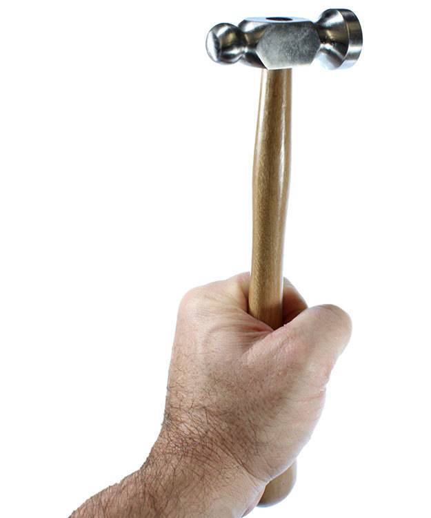 37.0365 = Chasing Hammer with 1'' Head