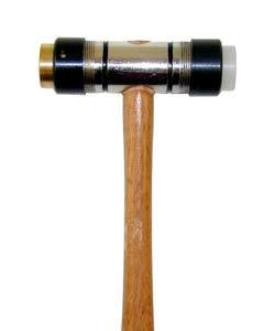 37.582 = MALLET BRASS and FIBER 5oz with REPLACEABLE FACES