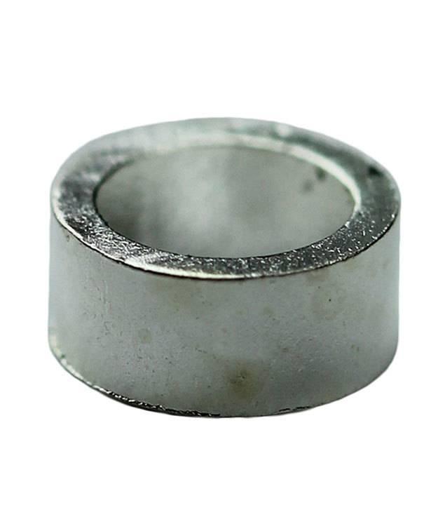 585SP-02 = CrimpTube 3 x 2mm Silver Plated (Pkg of 100)