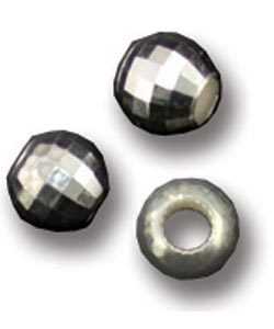 ABS-MR5 = Sterling Silver Faceted Mirror Bead 5mm (Pkg of 10)