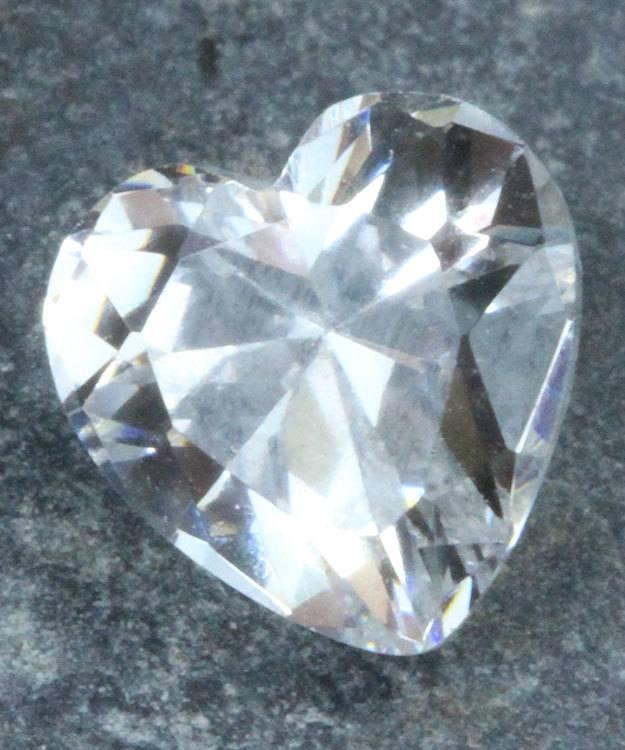 CZHT8X8 = Cubic Zirconia Heart Shape 8x8mm (Pkg of 5))