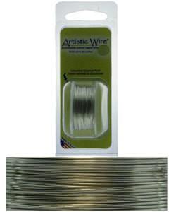 WR23728 = Artistic Wire Dispenser Pack TINNED COPPER 28ga 15 Yards