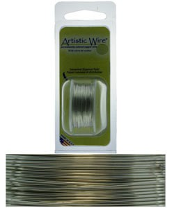 WR23726 = Artistic Wire Dispenser Pack TINNED COPPER 26ga 15 Yards