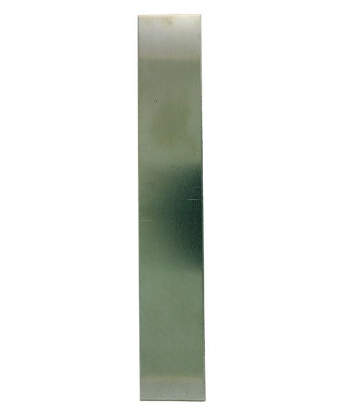 "NS26-1 = Nickel Silver Sheet  26ga   1"" x 6"" .41mm Thick  (Pkg of 6)"