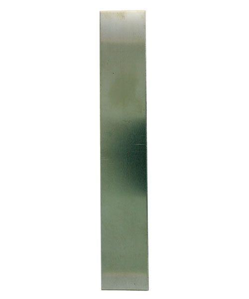 "NS18-1 = Nickel Silver Sheet  18ga   1"" x 6"" 1.02mm Thick  (Pkg of 3)"