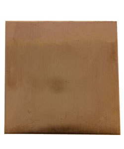 "MSC30424 = Copper Shape Square 1-1/2"" x 1-1/2"" (24ga) (Pkg of 8)"