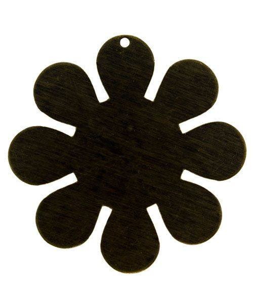 MSBV1003 = Vintaj Brass Shape - FLOWER 40mm (Pkg of 3)
