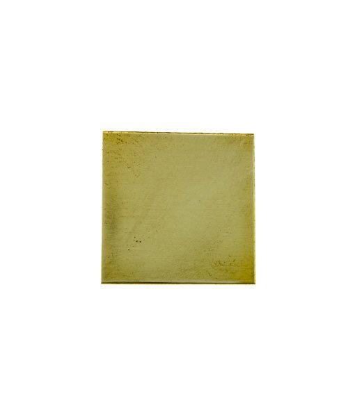 "MSBR30024 = Brass Shape - Square 1/2""  (24ga) (Pkg of 6)"