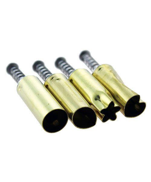 Kemper Tools MC1007 = Klay Kutters Set of 4 Different 3/16'' PCS5 By Kemper