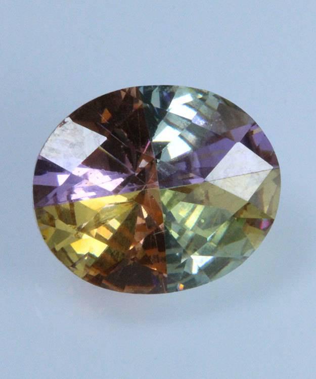 LSOV12X10 = Lucky Stone Oval Cut CZ 12x10mm (Each)