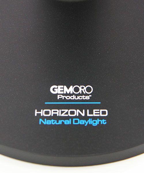 GemOro LM2257 = GemOro Horizon LED Diamond Grading / Desk Lamp - Black