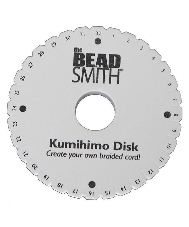 KD606 = Kumihimo Disc 20mm Thick 6'' Diameter 35mm Hole
