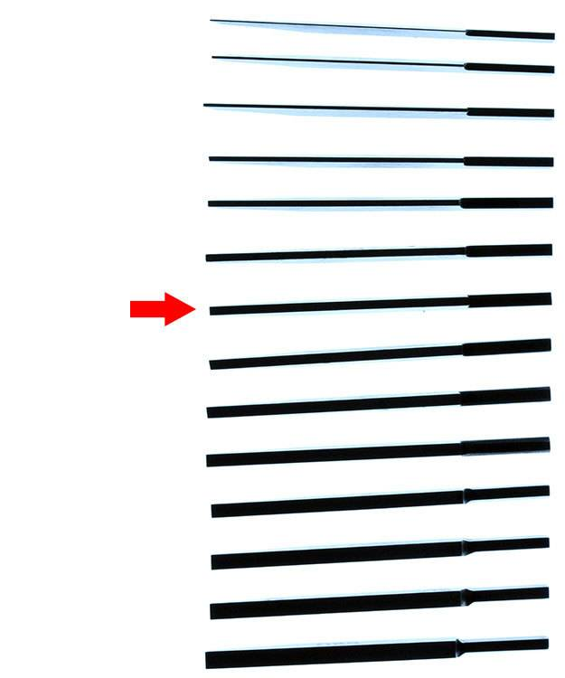 GRS GR2442 = GRS Flat Quick Change High Speed Graver #42 (1.4mm)