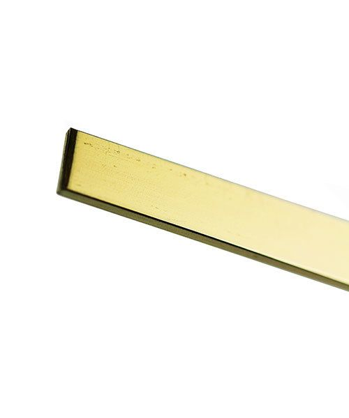 GFW4010 = 14KY Gold Flat Wire 4.0x1.0mm (Sold by the inch)