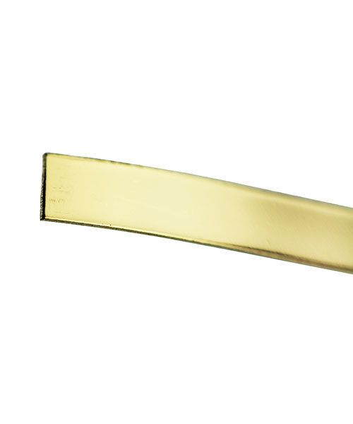 GBW428 = 14KY Gold Bezel Wire 4mmx28ga (Sold by the inch)
