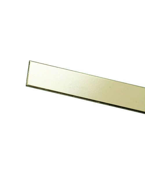 GBW424 = 14KY Gold Bezel Wire 4mmx24ga (Sold by the inch)