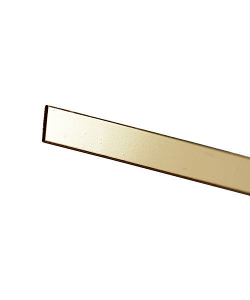 GBW328 = 14KY Gold Bezel Wire 3mmx28ga (Sold by the inch)