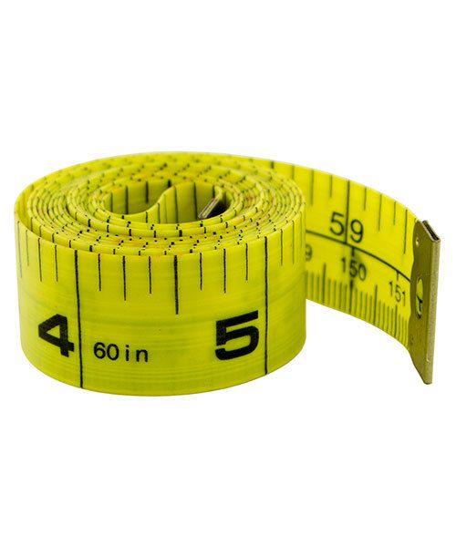 GA301 = MEASURING TAPE - PLASTIC  60'' LENGTH