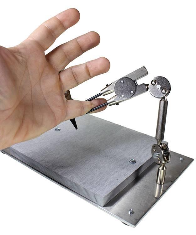 GRS G04545 = GRS Dual Short Third Hand Soldering Station