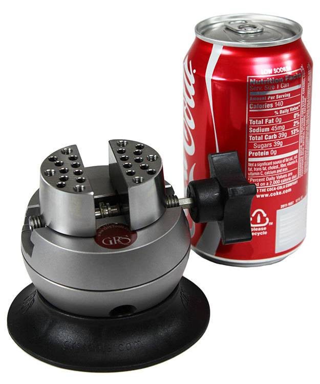 GRS G03684 = GRS Microblock Engraving Ball Vise with Attachments