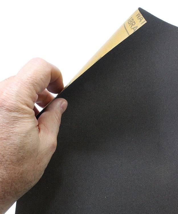 EM9370 = Economy Aluminum Oxide Paper #4/0 (800grit) (Pkg of 3)