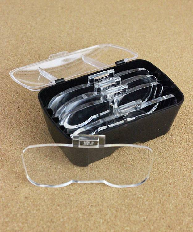 Grobet USA EL9569 = Headband Illuminated Magnifier w/ 5 different lenses