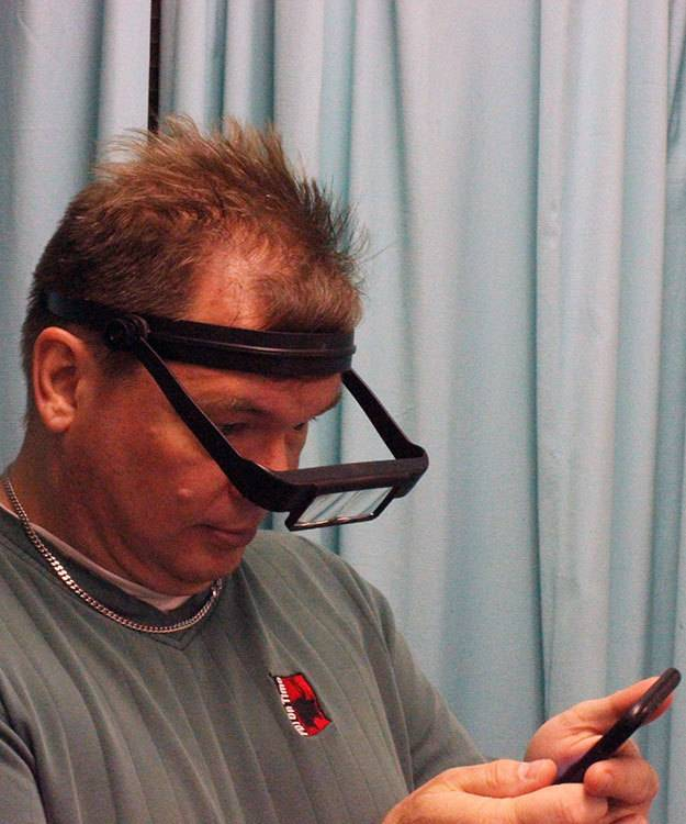 Donegan Optical EL8001BK = Optisight Headband Magnifier with 3 Lenses (Black)
