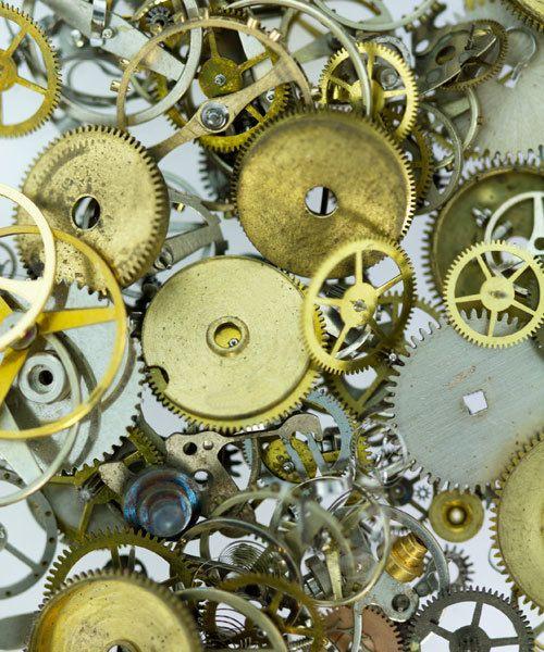 EB1001 = Steampunk Embellishments Watch Parts 1/2oz by Lisa Pavelka