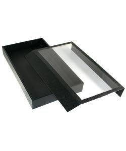 DTR1352 = TRAY with CLEAR MAGNETIC LID 2'' DEEP