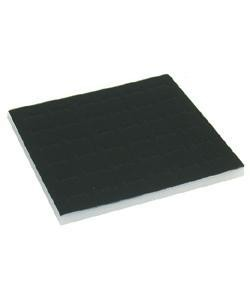 DRG1005 = FOAM RING TRAY INSERTS HALF SIZE 36 SPACE 6-3/4'' x 7-1/2''.