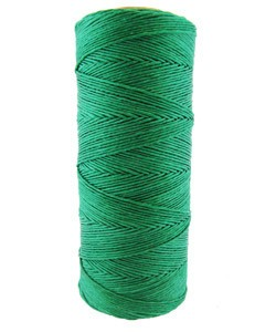 CD6014 = Hemp Cord DARK GREEN COLOR 10lb TEST - 50g SPOOL