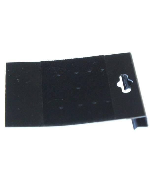 DER820 = Hanging Earring Card Black Multihole 2'' No Imprint  (Pkg of 100)