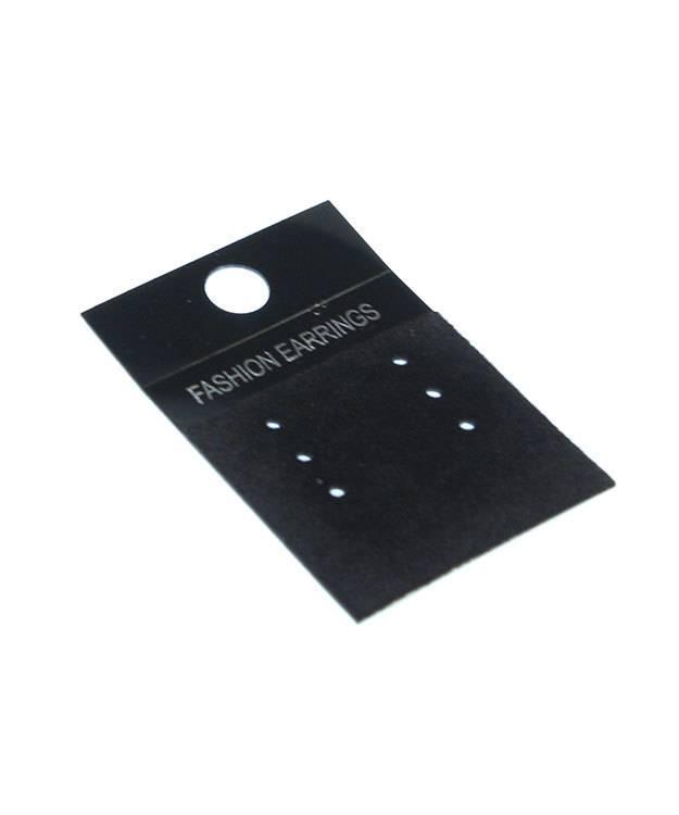 DER815 = Multi-Earring Card Black for Fashion Earrings (Pkg of 100)