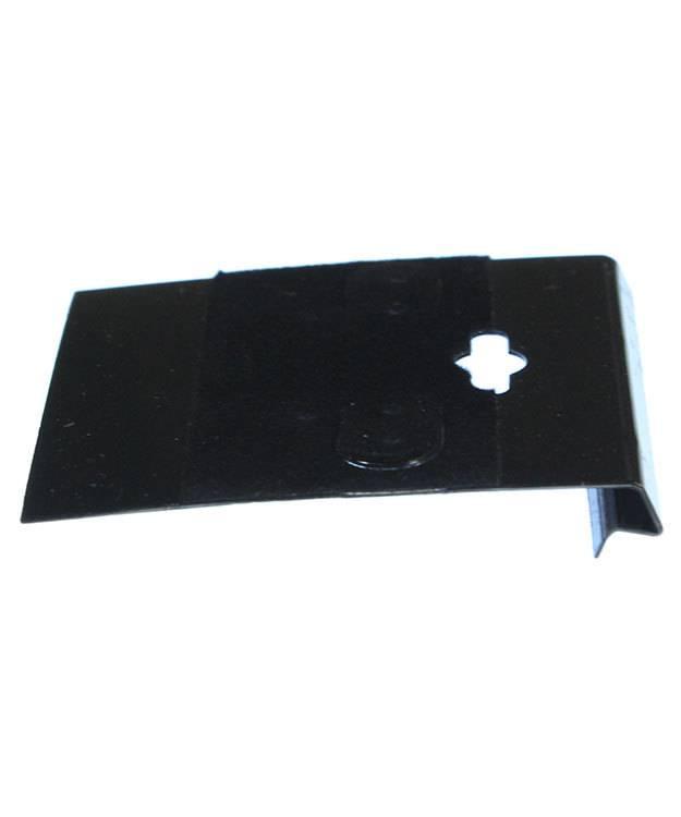 DER800 = Hanging Earring Cards Black 2'' Plain (Pkg of 100)