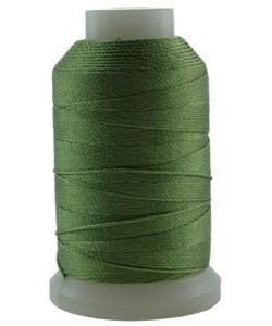 CD7037 = Silk Thread 1/2oz Spool GREEN SIZE E