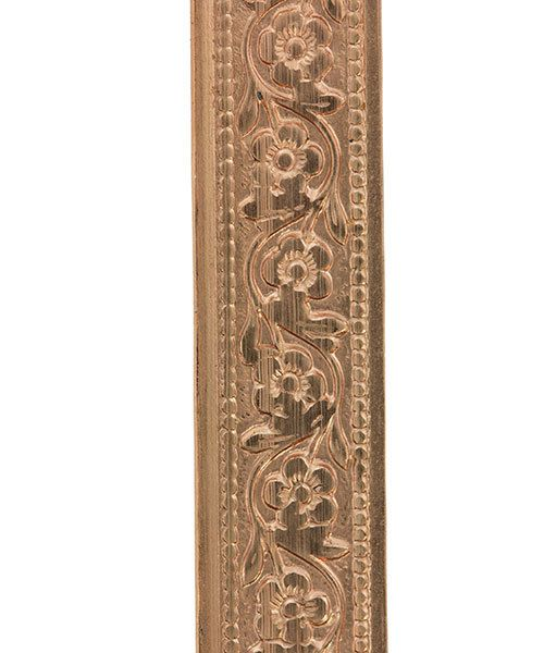 CPW306 = Copper Pattern Wire - FLOWER CHAIN 0.51 x 7.94mm - 3 foot piece