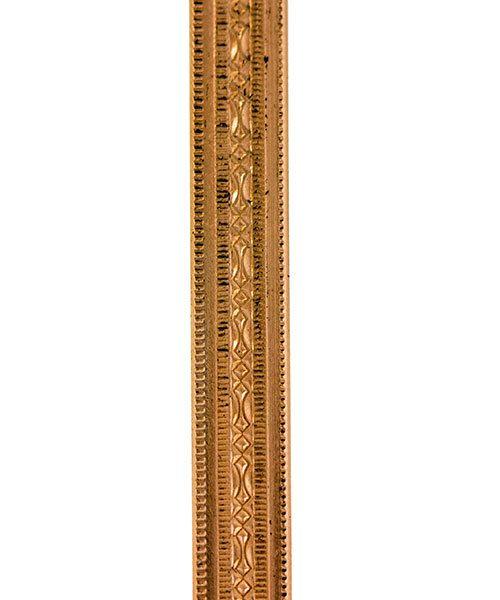 CPW101 = Copper Pattern Wire - MINI BEADED 1.02 x 5.08mm - 1 foot piece