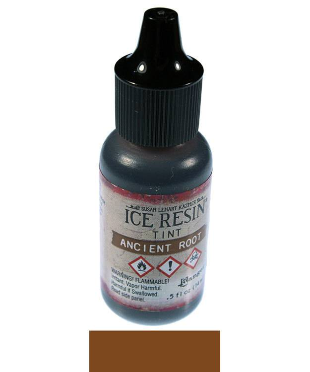 CE765 = Ice Resin Tints, Ancient Root 0.5oz Bottle