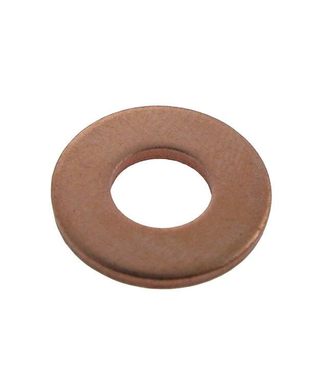 "MSC15414 = Copper Washer 11/16"" Dia with 1/4"" Hole (14ga) (Pkg of 6)"