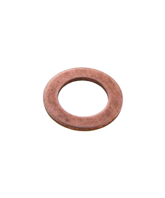 """MSC15120 = Copper Washer 1/2"""" Dia with 1/4"""" Hole (20ga) (Pkg of 6)"""