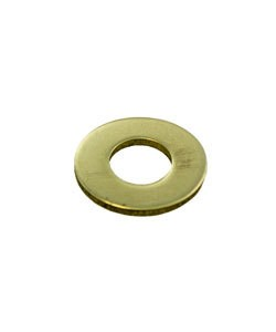 """MSBR17818 = Brass Washer 1/2"""" Dia with 15/64"""" Hole (18ga) (Pkg of 6)"""