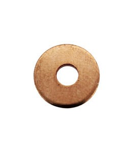 MSC16118 = Copper Washer 11.1mm Dia with 3.7mm Hole (18ga) (Pkg of 12)