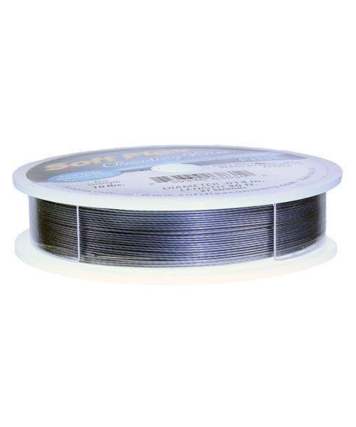CD2006 = Soft Flex Beading Wire  .024'' (100ft Spool) - Bright