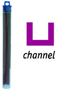 CA1994 = Cowdery Wax CHANNEL 1.0mm - PURPLE