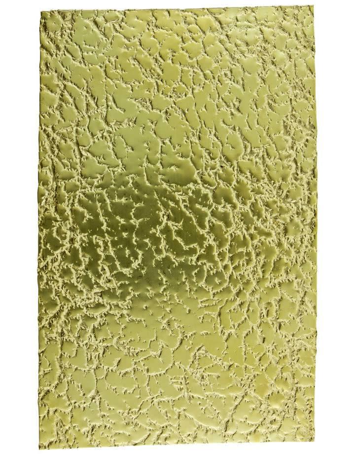 """BSP214 Patterned Brass Sheet 2-1/2"""" Wide"""