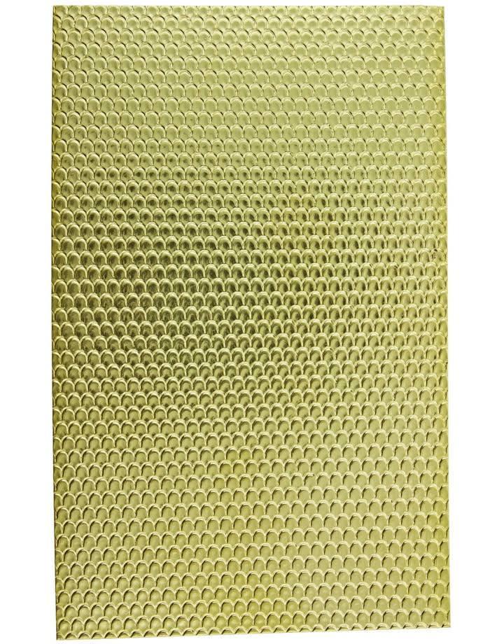 """BSP216 Patterned Brass Sheet 2-1/2"""" Wide"""