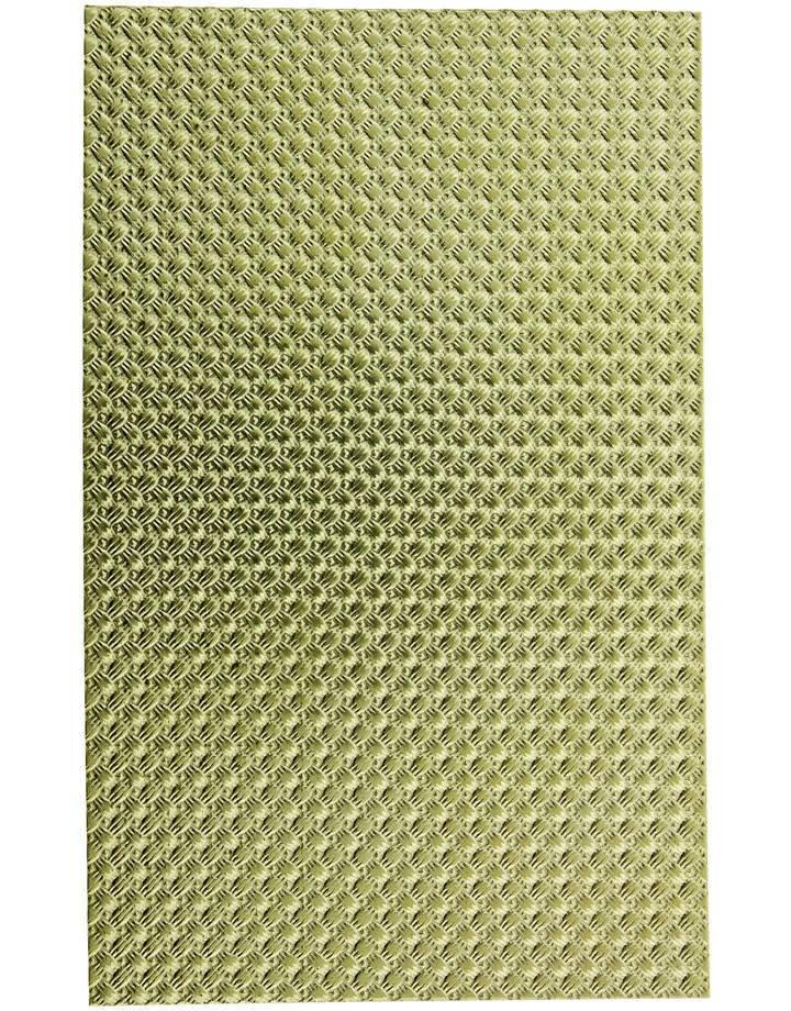 """BSP232 """"Mini Woven"""" Patterned Brass Sheet 2-1/2"""" Wide"""
