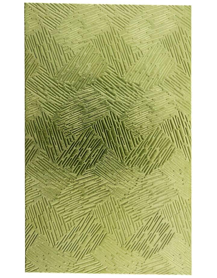 """BSP251 Patterned Brass Sheet 2-1/2"""" Wide"""