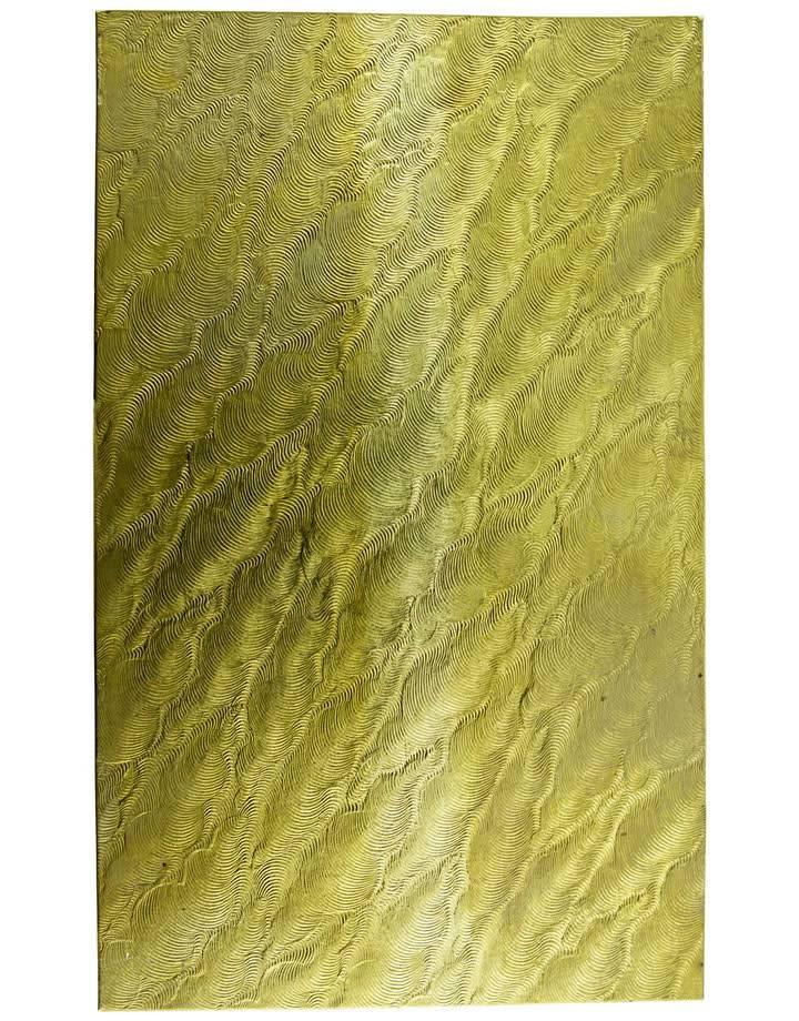 """BSP254 Patterned Brass Sheet 2-1/2"""" Wide"""