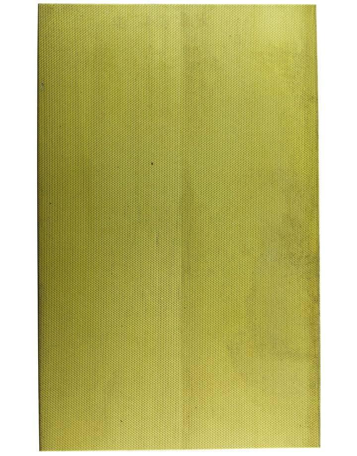 """BSP257 """"Honey Comb"""" Patterned Brass Sheet 2-1/2"""" Wide"""